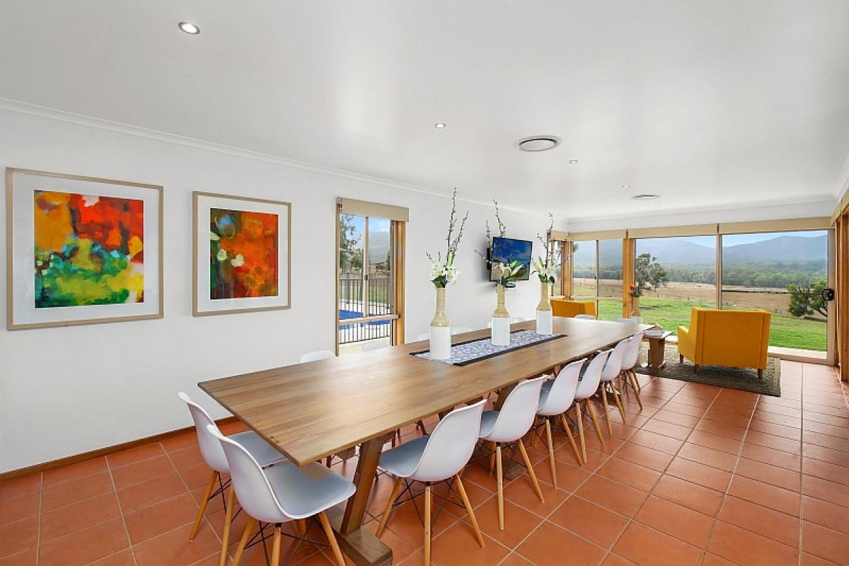 Hunter Valley Accommodation - Hillbrook Estate - Elderslie - Dining