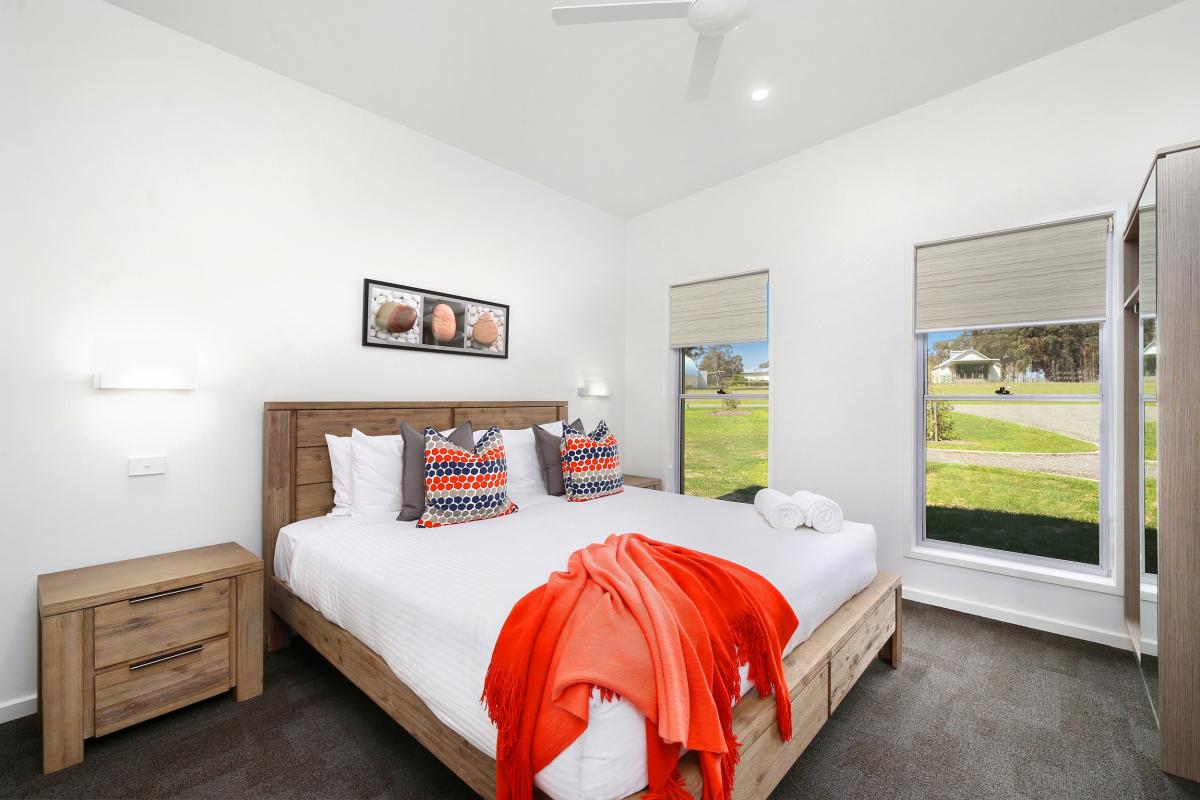 Hunter Valley Accommodation - Ironbark Villa 2 - Pokolbin - Bedroom