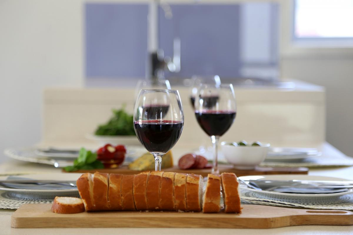 Hunter Valley Accommodation - Ironbark Villa 3 - Pokolbin - Dining