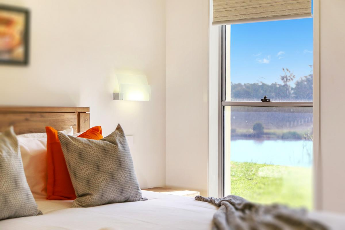 Hunter Valley Accommodation - Ironbark Villa 3 - Pokolbin - Bedroom