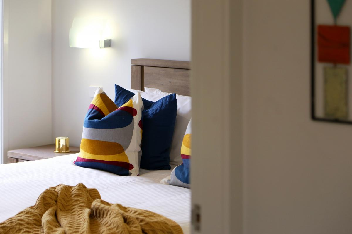Hunter Valley Accommodation - Ironbark Villas - Pokolbin - Bedroom