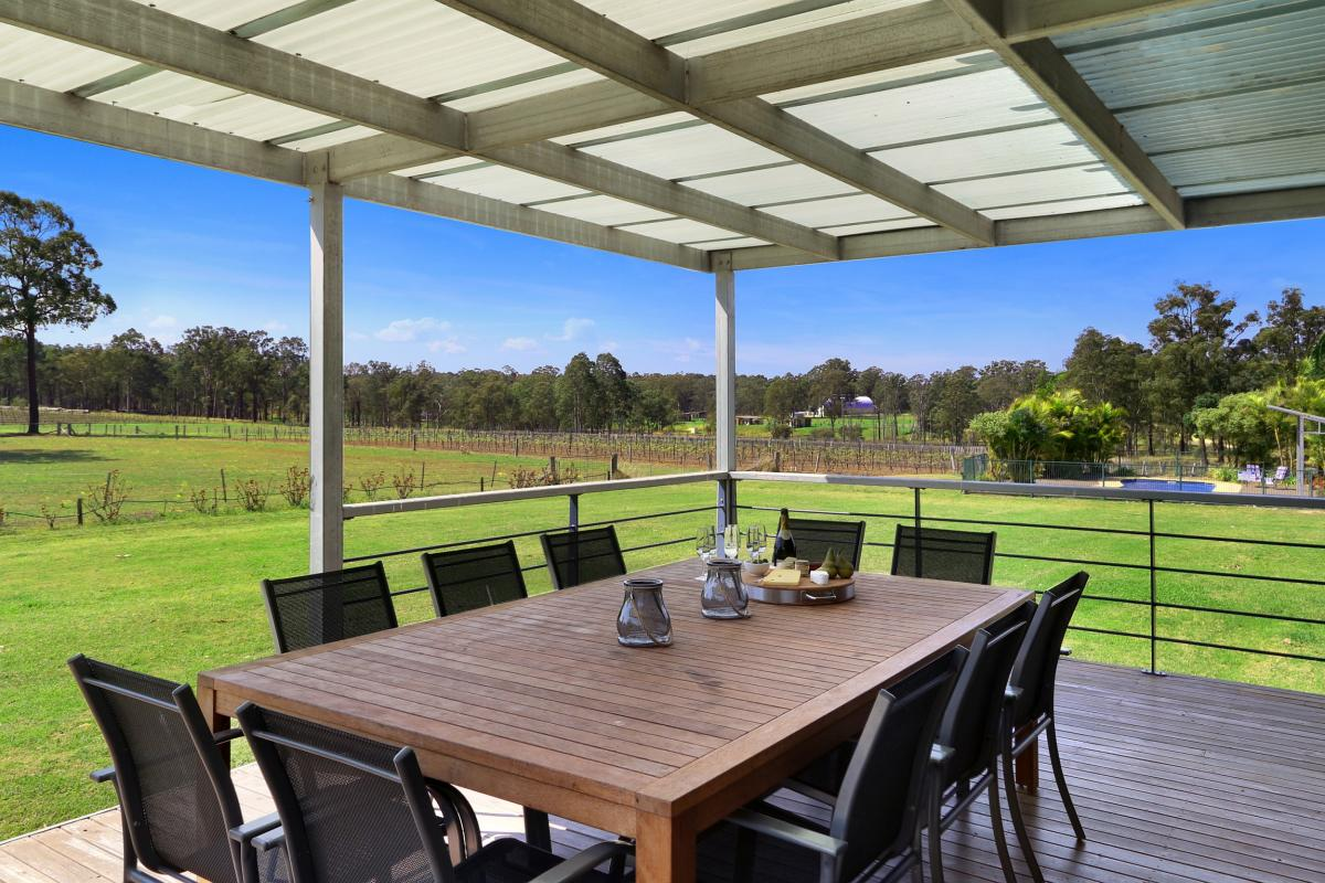 Hunter Valley Accommodation - Ironbark Hill Estate - Pokolbin - Exterior
