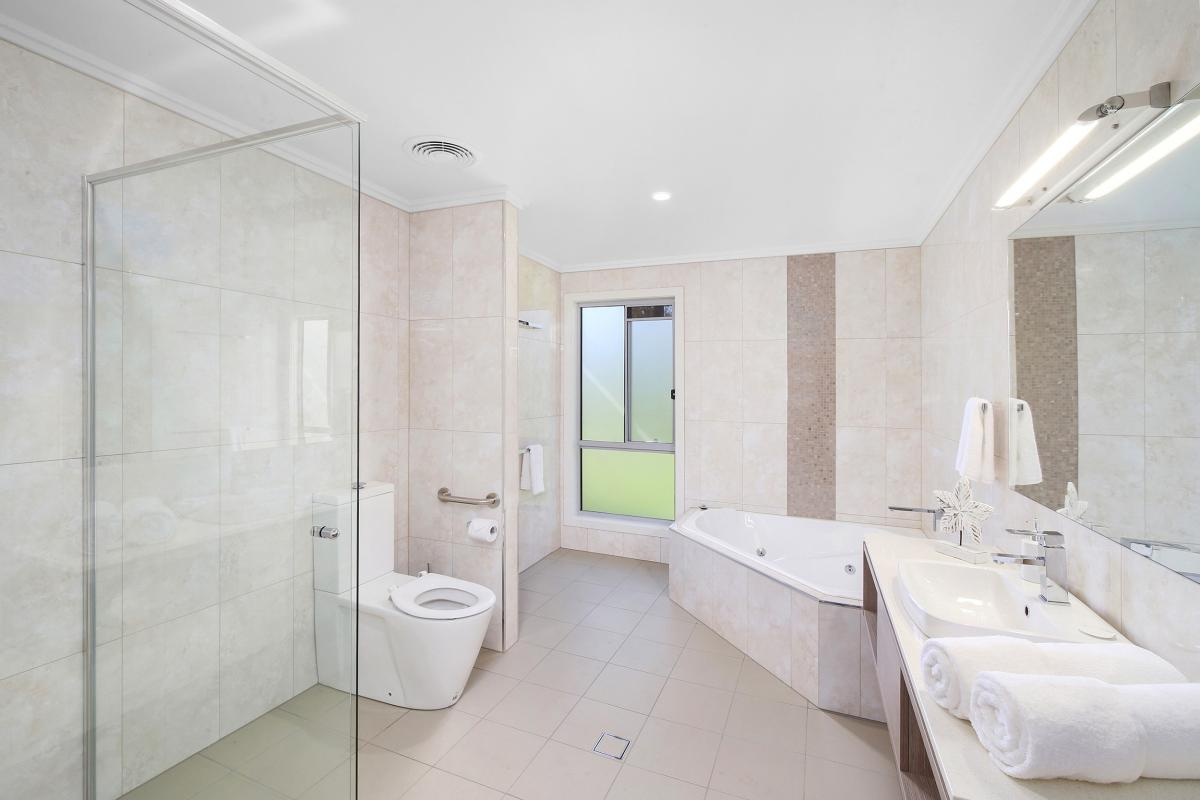 Hunter Valley Accommodation - Ironbark Hill Estate - Pokolbin - Bathroom