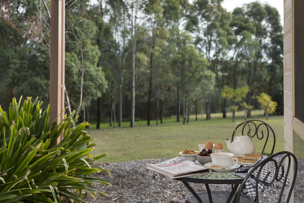 Hunter Valley Accommodation - Windsors Edge Rothbury Cottage - Pokolbin - all