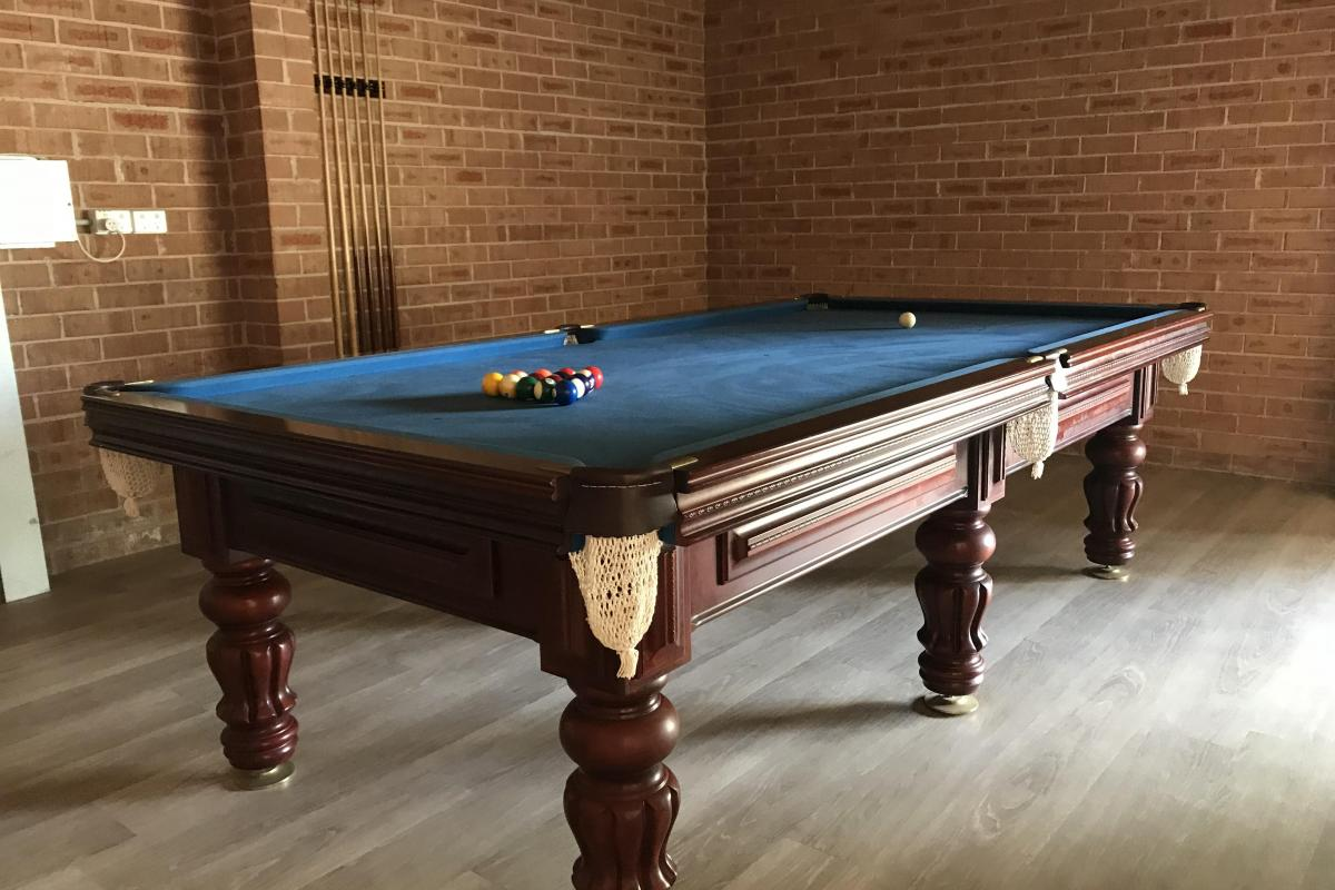 Hunter Valley Accommodation - Wine Country Lodge - Pokolbin - Games Room