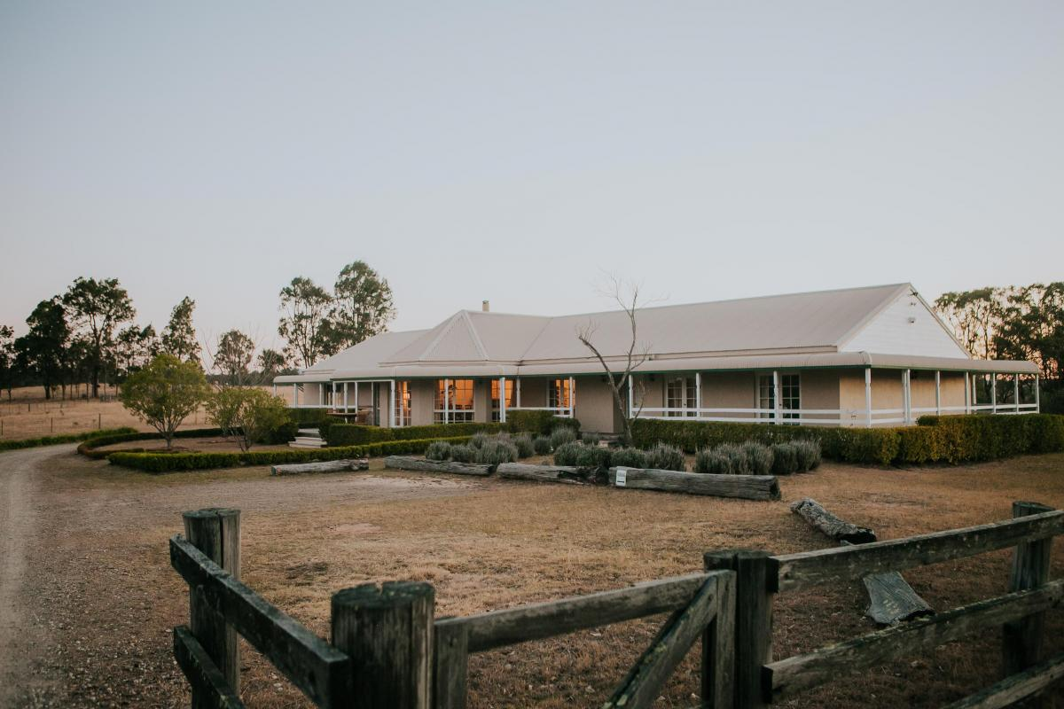 Hunter Valley Accommodation - Corunna Station 8 Bedrooms - Pokolbin - all