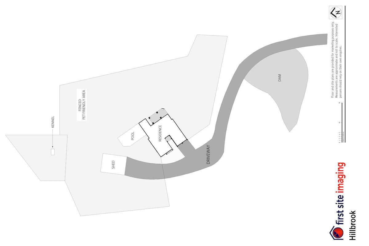 Hunter Valley Accommodation - Hillbrook Estate - Elderslie - Floor Plan