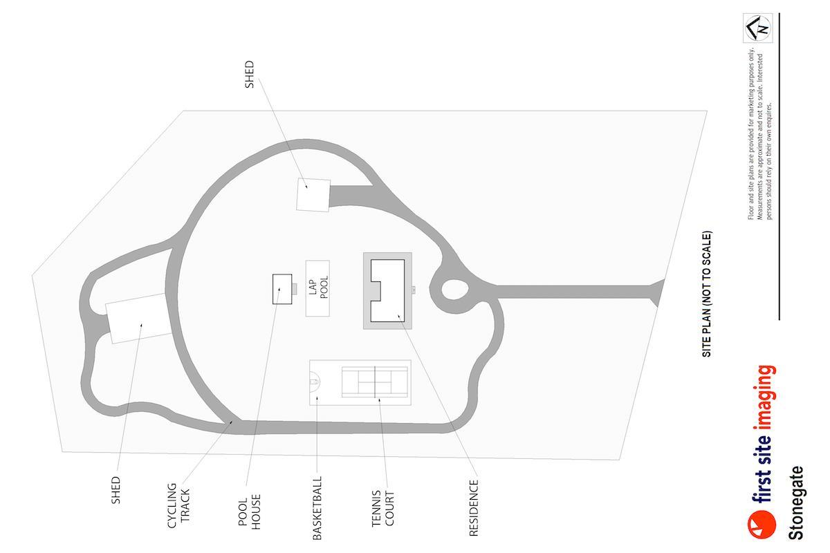 Hunter Valley Accommodation - Stonegate - Nulkaba - Floor Plan