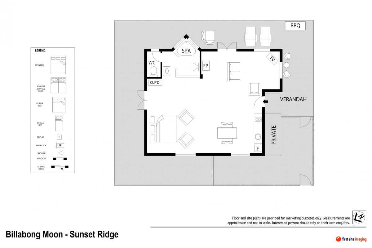 Hunter Valley Accommodation - Billabong Moon Sunset Ridge Cottage - Rothbury - all