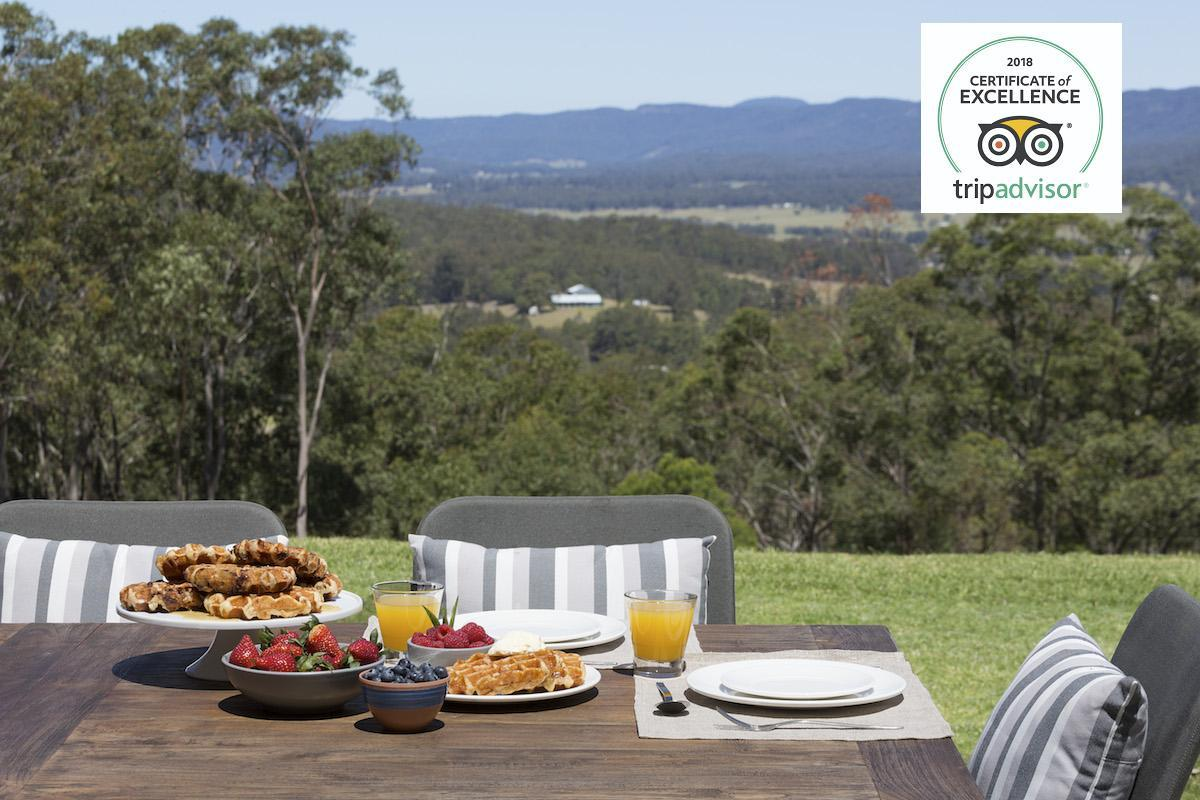 Hunter Valley Accommodation - Alphawood - Mount View - all