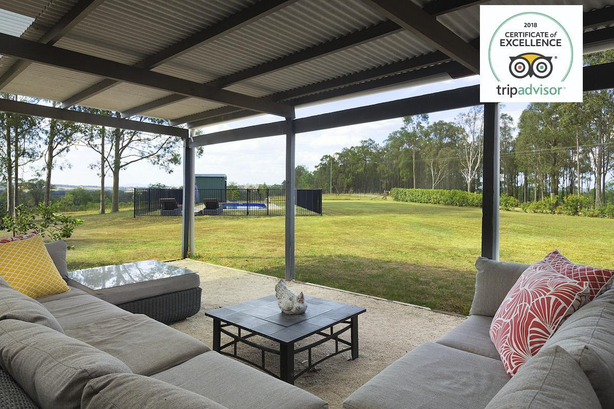 Hunter Valley Accommodation - Hillcrest House - Pokolbin - Exterior