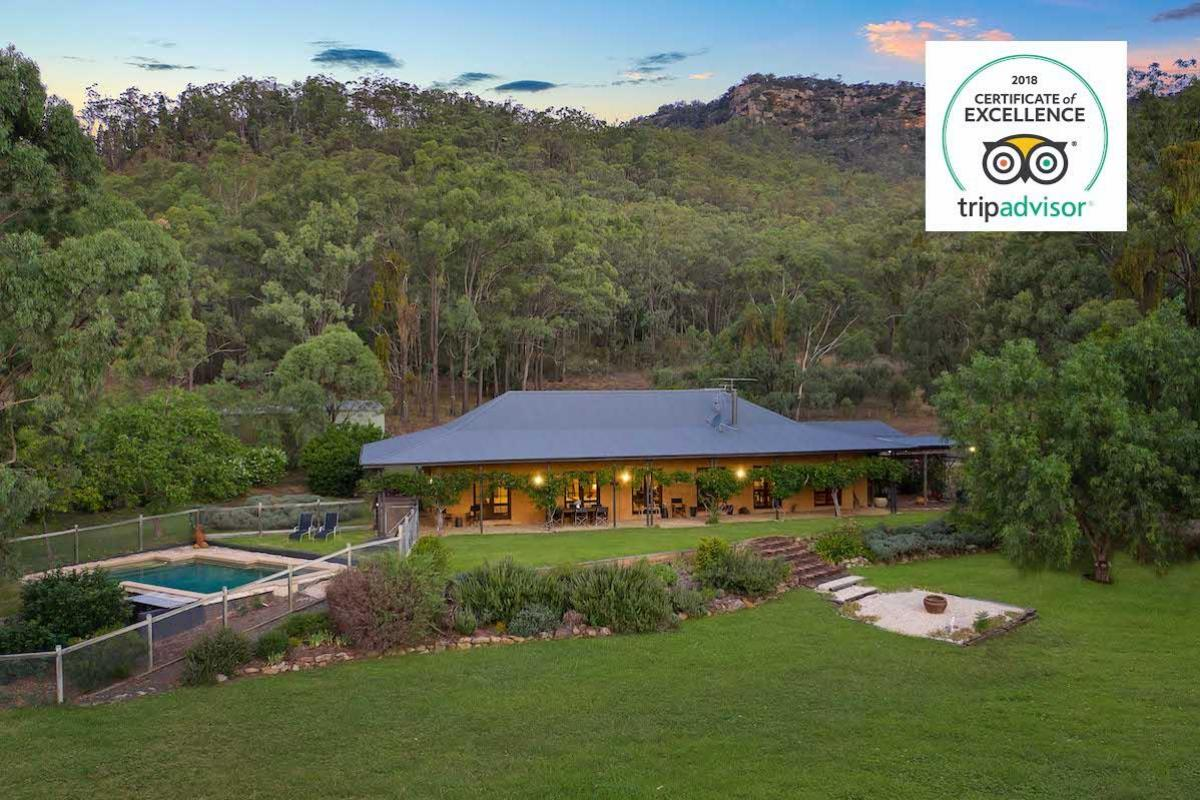 Hunter Valley Accommodation - Rocklee Grove - Broke - Exterior