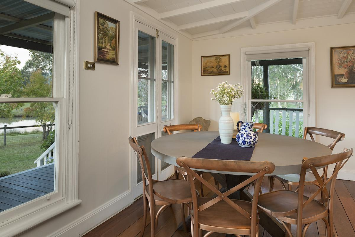 Hunter Valley Accommodation - Millfield Homestead - Millfield - Dining