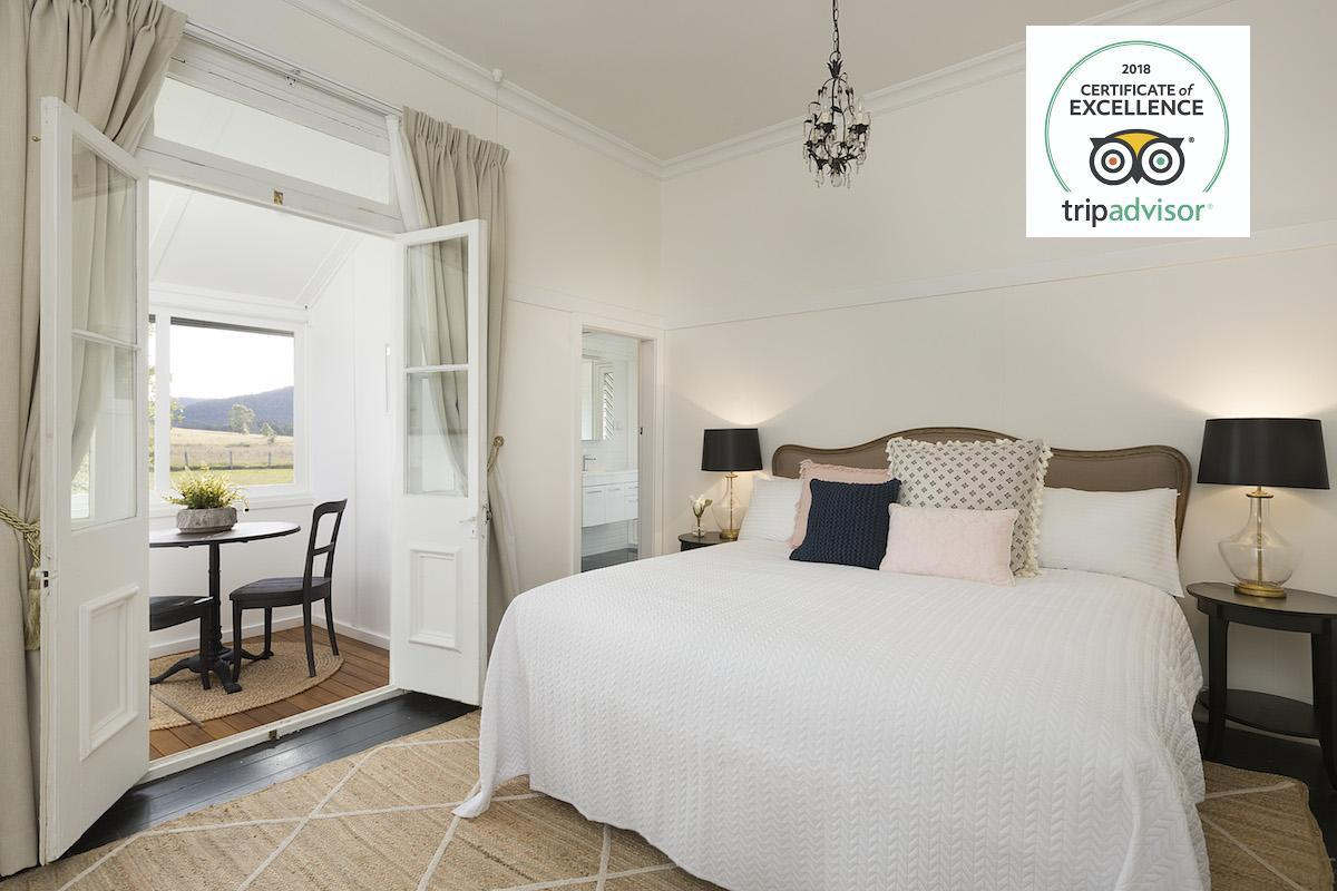 Hunter Valley Accommodation - Millfield Homestead - Millfield - Bedroom