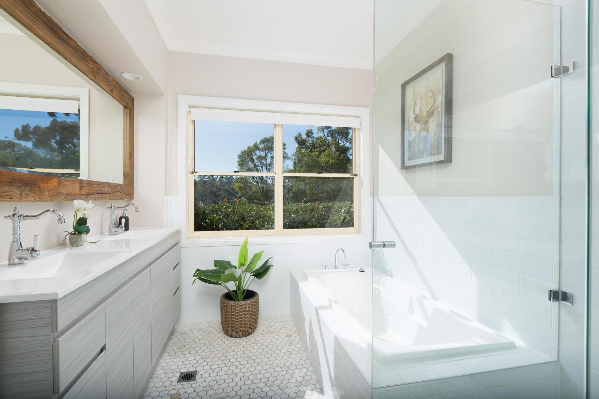 Hunter Valley Accommodation - Tharah - Mount View - Bathroom