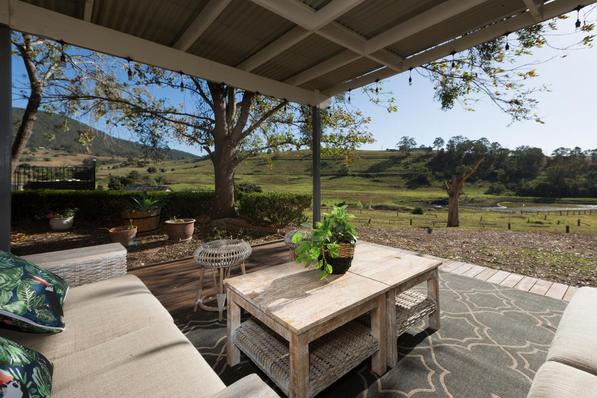 Hunter Valley Accommodation - Tharah - Mount View - Outdoor Entertaining Area