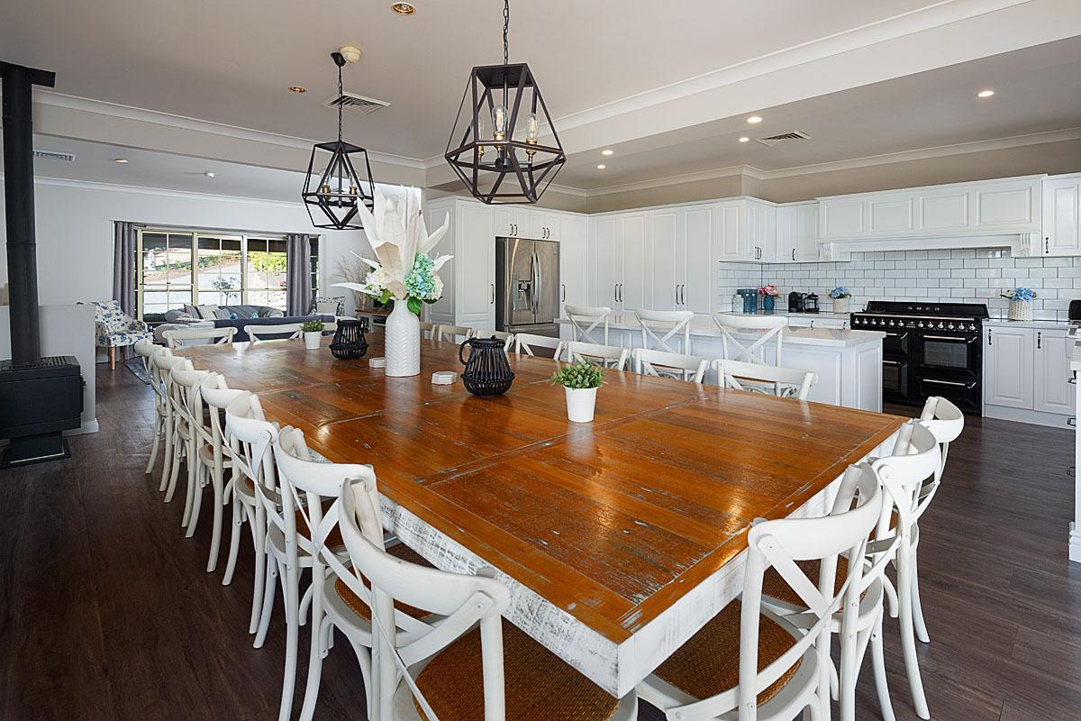 Hunter Valley Accommodation - Tharah - Mount View - Dining