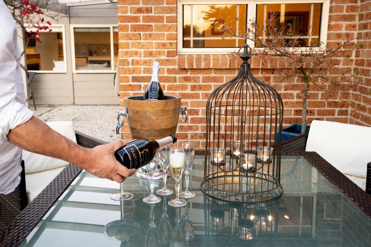 Hunter Valley Accommodation - Glengarrie Park - Pokolbin Hunter Valley - Outdoor Dining