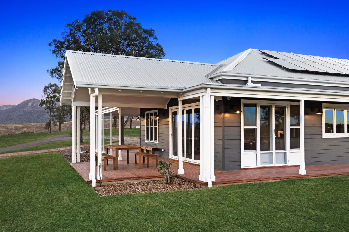 Hunter Valley Accommodation - Jindalee Estate- Pokolbin - Outdoor Entertaining Area