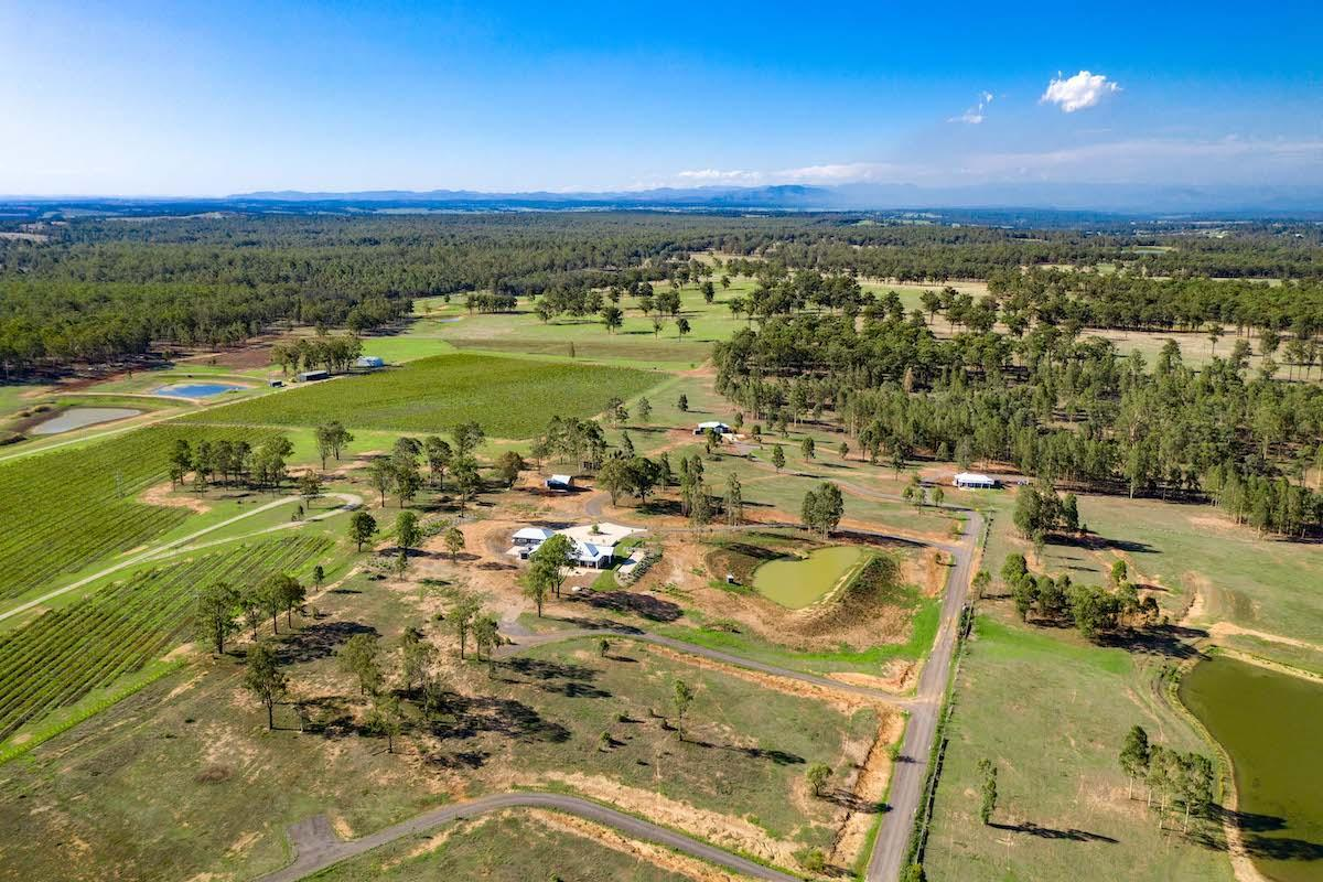 Hunter Valley Accommodation - Jindalee Estate- Pokolbin - Vineyard Views