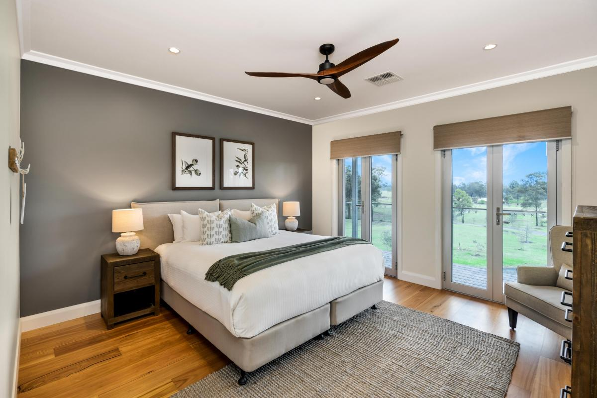 Hunter Valley Accommodation - Allawah Estate - Lovedale Hunter Valley - Bedroom