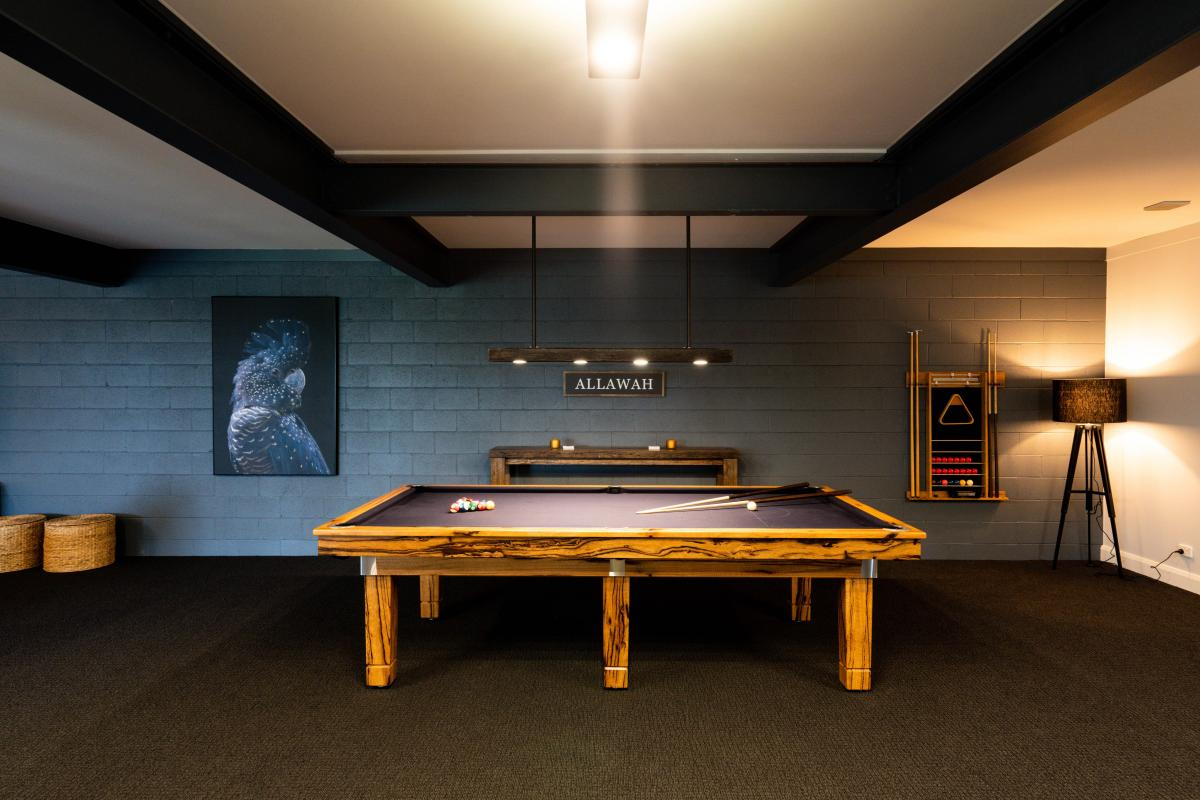 Hunter Valley Accommodation - Allawah Estate - Lovedale Hunter Valley - Games Room