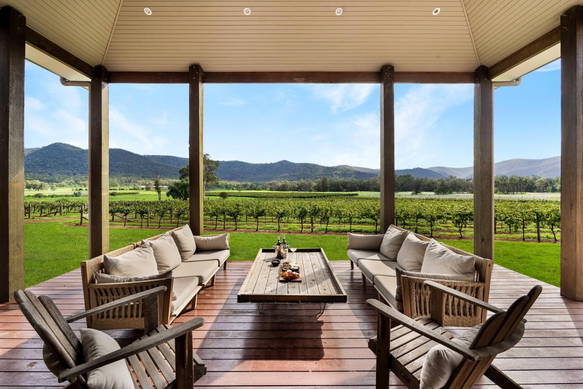 Hunter Valley Accommodation - Arenridge - Broke - Outdoor Dining