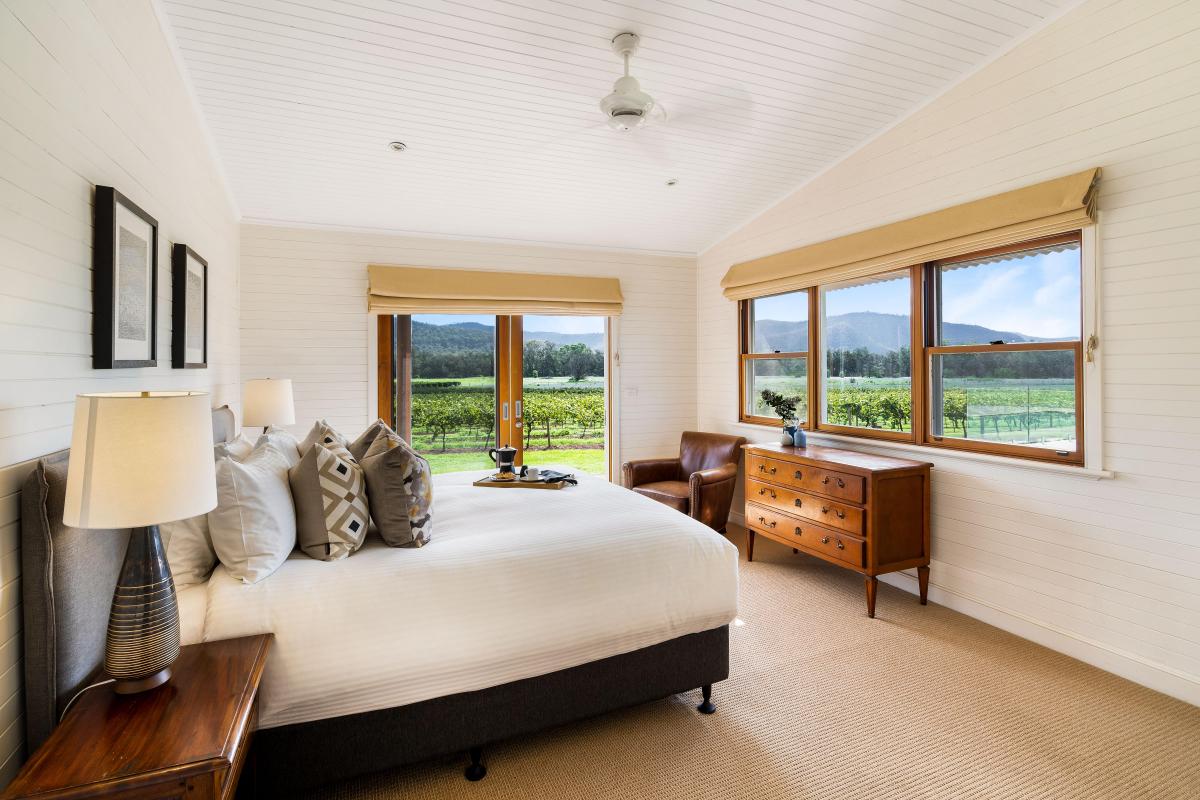 Hunter Valley Accommodation - Arenridge - Broke - Bedroom