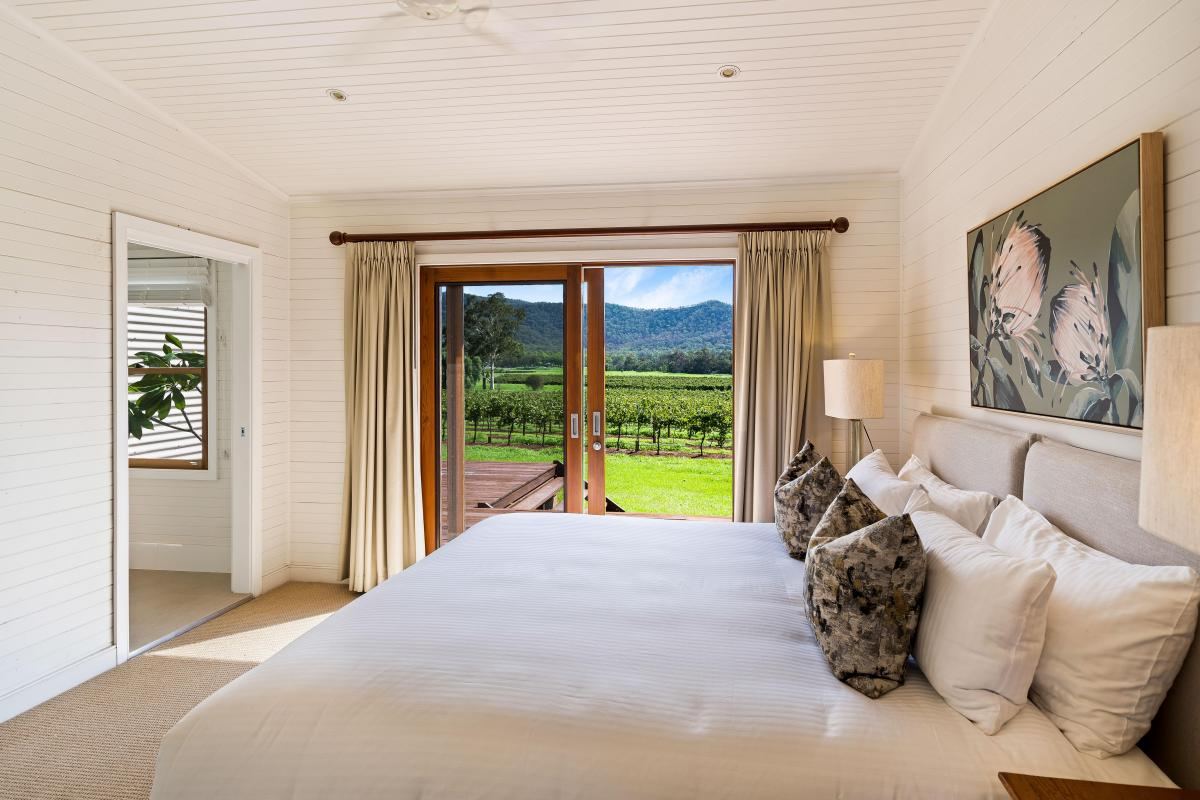 Hunter Valley Accommodation - Arenridge - Broke - Bedroom