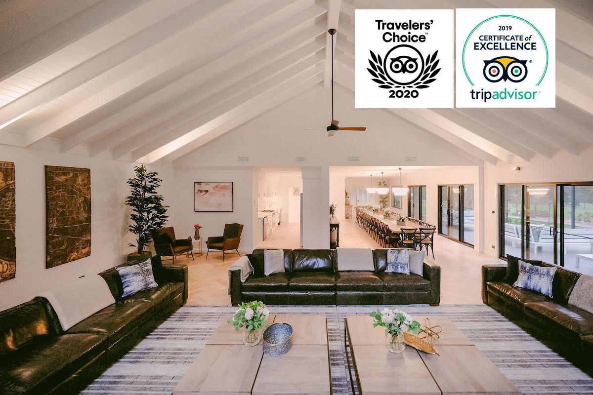 Hunter Valley Accommodation - Greystone Estate (15 Bedrooms) - Pokolbin - Sitting Room