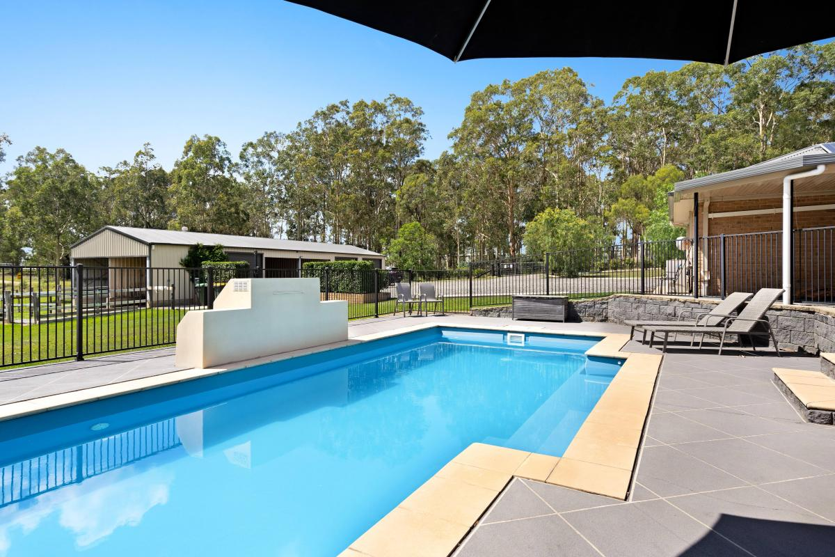 Hunter Valley Accommodation - Puddleduck House - Nulkaba - all