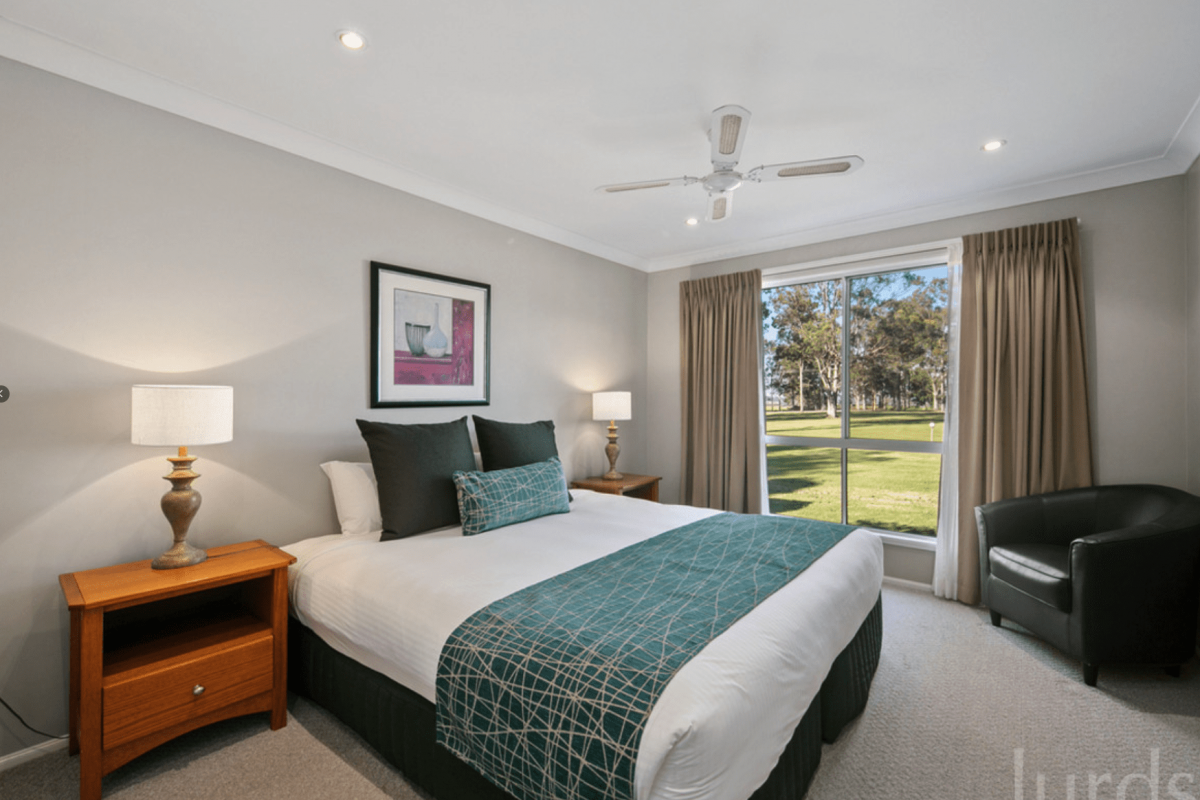 Hunter Valley Accommodation - Peppertree Cottage at The Grange - Rothbury - Bedroom