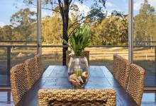 Hunter Valley Accommodation - Blue Cliff Retreat - Pokolbin - Dining