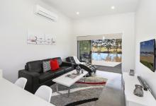 Hunter Valley Accommodation - Ironbark Villa 2 - Pokolbin - Living Room