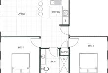 Hunter Valley Accommodation - Ironbark Villa 3 - Pokolbin - Floor Plan