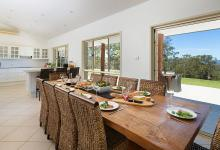 Hunter Valley Accommodation - Alphawood - Mount View - Dining
