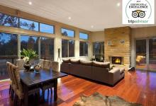 Hunter Valley Accommodation - Blue Cliff Retreat - Pokolbin - Living Room