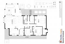Hunter Valley Accommodation - Maranda Country Estate - Broke - Floor Plan