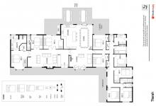 Hunter Valley Accommodation - Tharah - Mount View - Floor Plan
