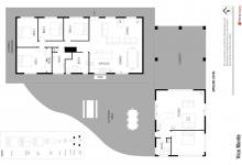 Hunter Valley Accommodation - Vico Monti - Pokolbin - Floor Plan