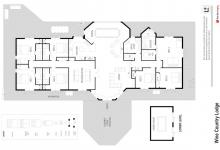 Hunter Valley Accommodation - Wine Country Lodge - Pokolbin - Floor Plan