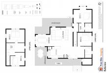 Hunter Valley Accommodation - Ballaview - Lovedale - Floor Plan