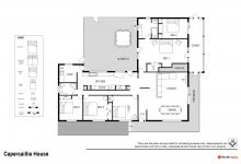 Hunter Valley Accommodation - Capercaillie House - Lovedale - Floor Plan