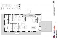 Hunter Valley Accommodation - Rocklee Grove - Broke - Floor Plan