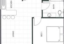 Hunter Valley Accommodation - Ironbark Villa 1 - Pokolbin - Floor Plan