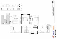 Hunter Valley Accommodation - The Lake House - Bay Lovedale - Floor Plan