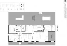 Hunter Valley Accommodation - Hillcrest House - Pokolbin - Floor Plan