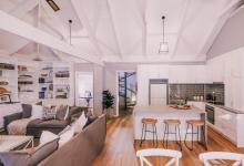 Hunter Valley Accommodation - Casuarina Estate - Hamptons Loft - all