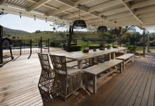Hunter Valley Accommodation - Tharah - Mount View - Outdoor Dining