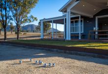Hunter Valley Accommodation - Jindalee Estate- Pokolbin - Exterior